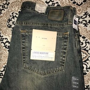 GAP loose boot fit jeans
